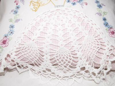 Crochet Pillowcase Edge Pattern Free Crochet Patterns