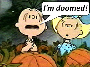 Linus Van Pelt doomed