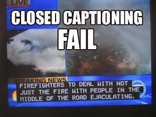 closed captioning fail