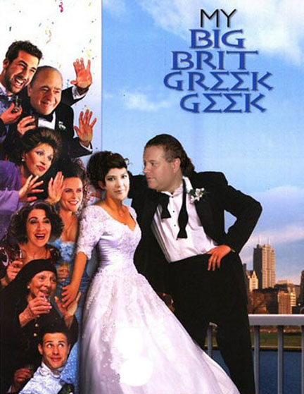 big fat greek wedding poster