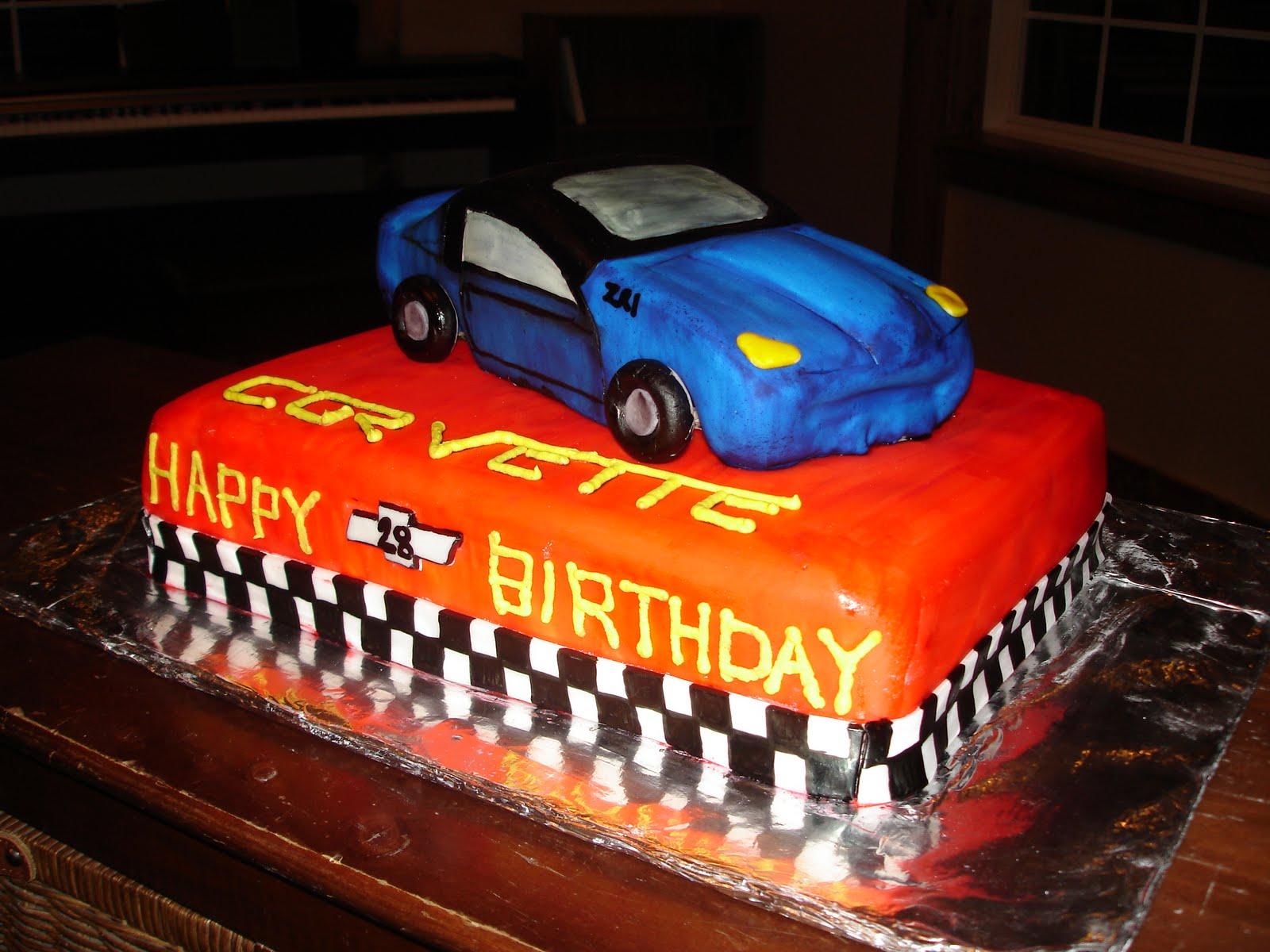 Ideas for Corvette BD cake CorvetteForum Chevrolet Corvette