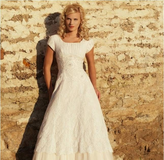 Modest wedding gowns princess cut pleated tulle modest for Wedding dresses princess cut