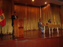 Presentación de EL RATÓN QUE DESEABA VOLAR, de Felipe Estupiñán. Municipalidad de San Borja.