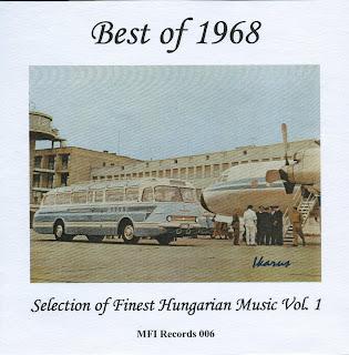 Best of 1968 - Hungarian Beat Pop Rock