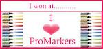 I won I love Promarkers challenge 8