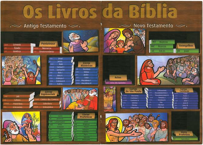 A palavra Bíblia significa Bíblioteca (conjunto de Livros)