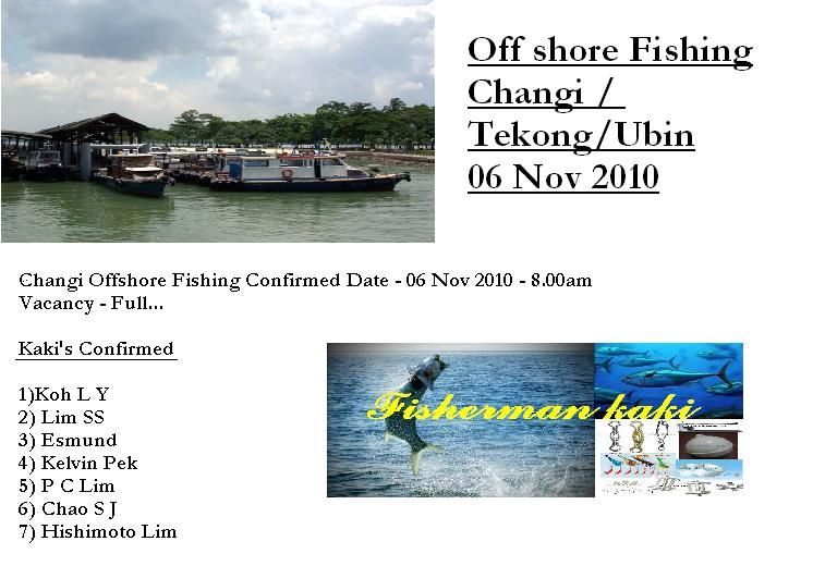 Nov 2010 OffShore Fishing