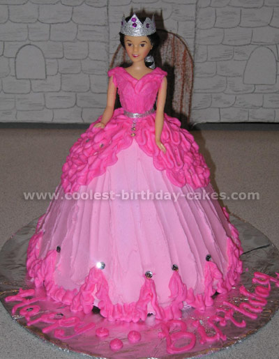 Barbie Doll Cake Mold At Walmart