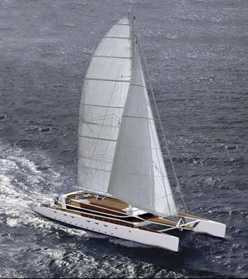 Luxury Catamaran A LIST OF MEGA SAILING CATAMARANS ABOVE