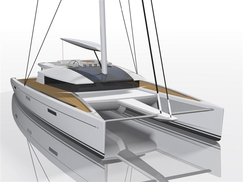 Luxury catamaran code e the ultimate eco friendly for Design d interieur gatineau