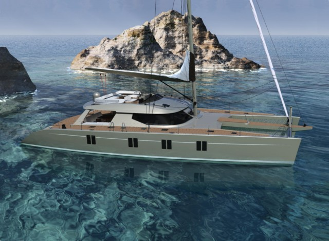 Aluminium sailing boat plans | SPT Boat