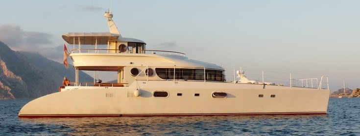 This 65 Foot Motor Catamaran Launched In 2002 And Built By Petter Quality Yacht Is For Sale