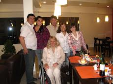 En el Restaurante del Hotel de Caleta Olivia, con el Equipo de la Concejal Lucila