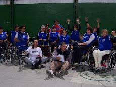Club CEDIMA en La Matanza con el Entrenador y las Integrantes del Equipo Femenino de Básquet.