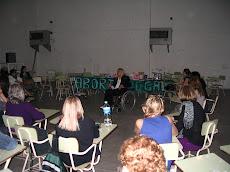 Durante la Presentación, en el XXV Encuentro Nacional de Mujeres.