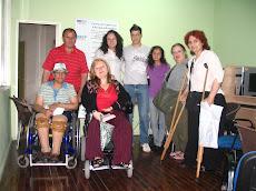 INCLUIR. Sonia Boiarov con los/as participantes en el Taller sobre Teletrabajo
