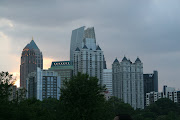 A small part of the Atlanta skyline from Piedmont Park
