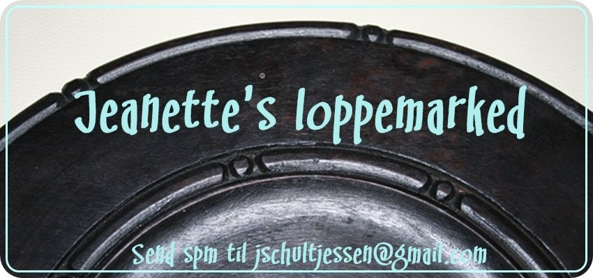 Jeanettes loppemarked