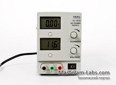 Лабораторный блок питания AXIOMET AX-1803D