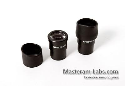 Увеличительные окуляры к оптической головке стереоскопического бинокулярного микроскопа ST60-24B1