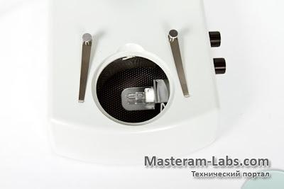 Нижняя подсветка стереоскопического тринокулярного микроскопа ST60-24Т2