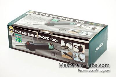 Упаковка термофена Pro'sKit SS-601F