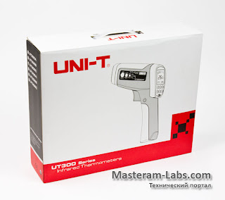 Профессиональный инфракрасный пирометр Uni-T UT305C