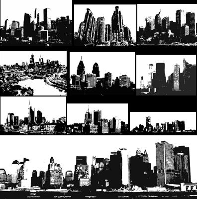 cleveland skyline vector. Gallery Vector Art: quot;Skyline