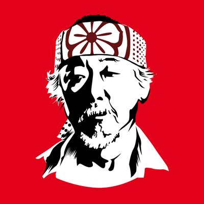 Miyagi do Karate Logo Vectorized mr Miyagi From The