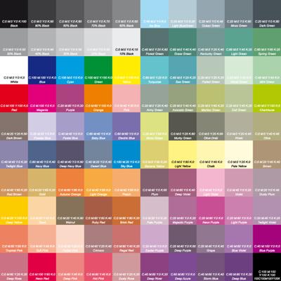 Как сделать цвета cmyk