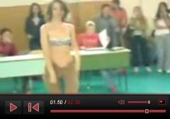 Hungarian teacher strip