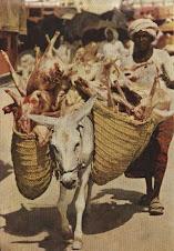 Daging Qurban untuk agihan