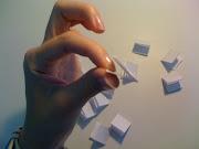 Petit papier tiré : Petit papier dévoilé :