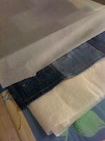Blå Garderobe fjerne Barte stoff fra Hvordan stearin wFq817gTw