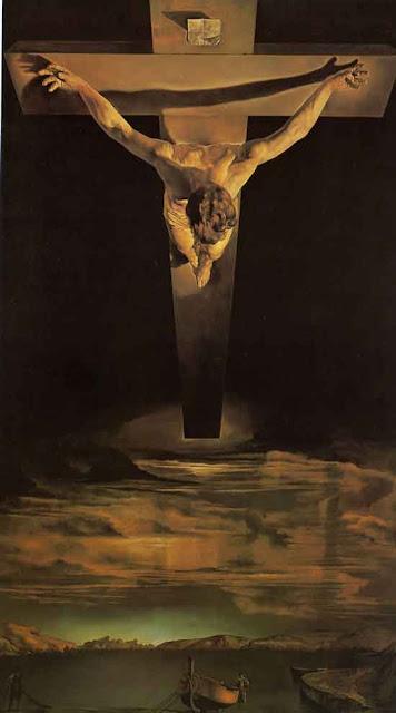 salvador dali_le christ de saint jean de la croix_1951