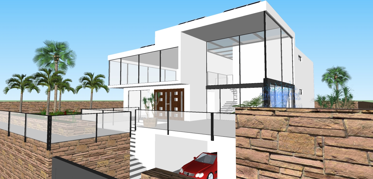 Modern design style house design for Google house design