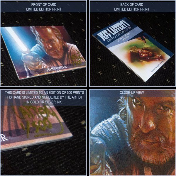 Obi Wan Kenobi, Limited Edition Signed Print by Jeff Lafferty