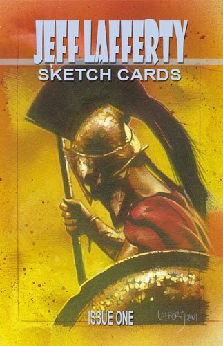 Jeff Lafferty Sketch Cards Book Cover