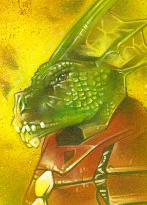 Kryllith ACEO Sketch Card by Jeff Lafferty