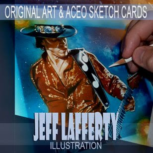 Jeff Lafferty, Original Art and Sketch Cards