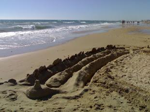 Historia de Amor de arena y mar.