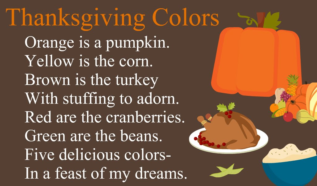Our school house songs and poems thanksgiving
