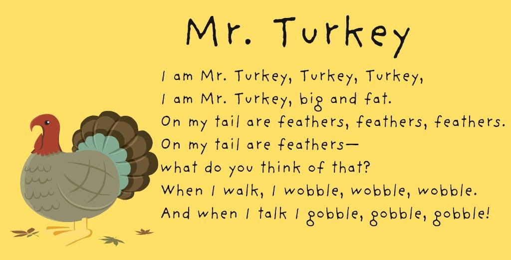 Thanksgiving Poems For Children