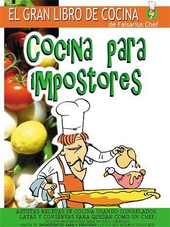 ebooksgratis cocina para impostores falsarius chef