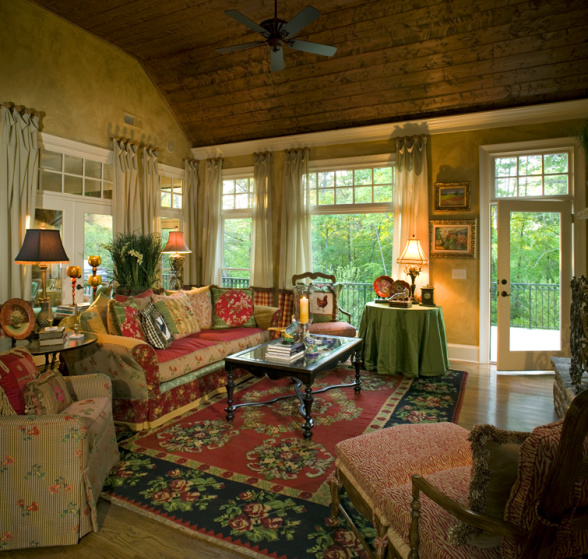 The inspired nest design inspiration cynthia aiken for French country style living room