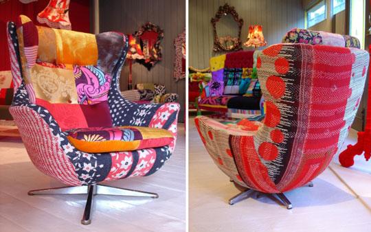 patchwork sofas originales