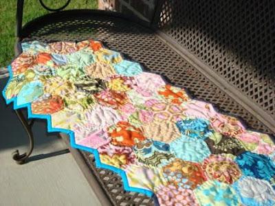 patch en hexagone