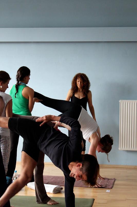 Anusara Yoga Workshop mit Desiree Rumbaugh Eye of the tiger