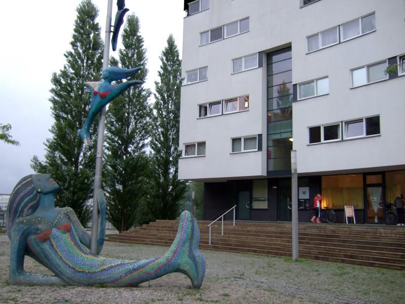 Halbinsel stralau berlin yoga insellicht test