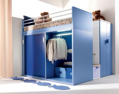 Constru o dos sonhos quartos infantis decorados for Very small bedroom solutions